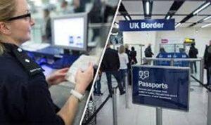 Pass UK border passport check