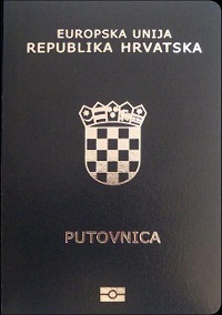 croatian passport application