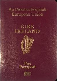 iarratas ar phas Éireannach in Stáit Aontaithe Mheiriceá
