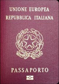 Passaporti italiani in vendita