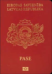 latvian passport non citizen