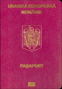 romanian passport cost