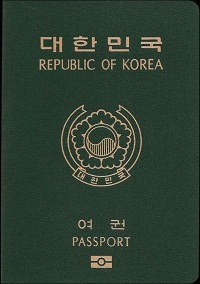 south korea passport requirements