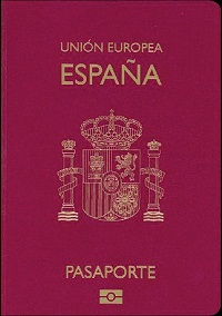 pasaporte sitio web español