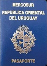 Pasaporte uruguayo Países sin visa
